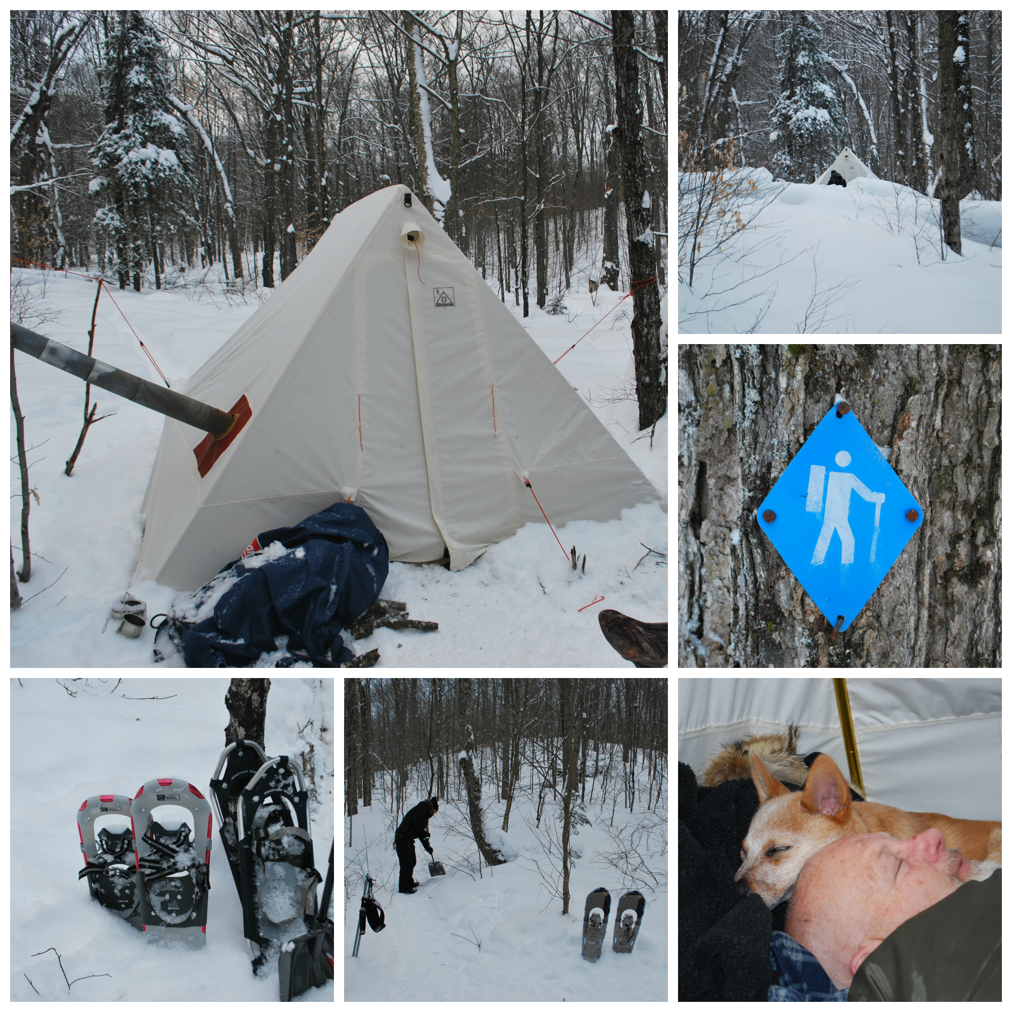 On January 31 2014 Team Paddle In set out for five wonderful days in Algonquinu0027s interior. But first we made a stop at Algonquin Basec&. & Hot Tenting- A review of the SnowTrekker EXP Crew 10×13 canvas ...