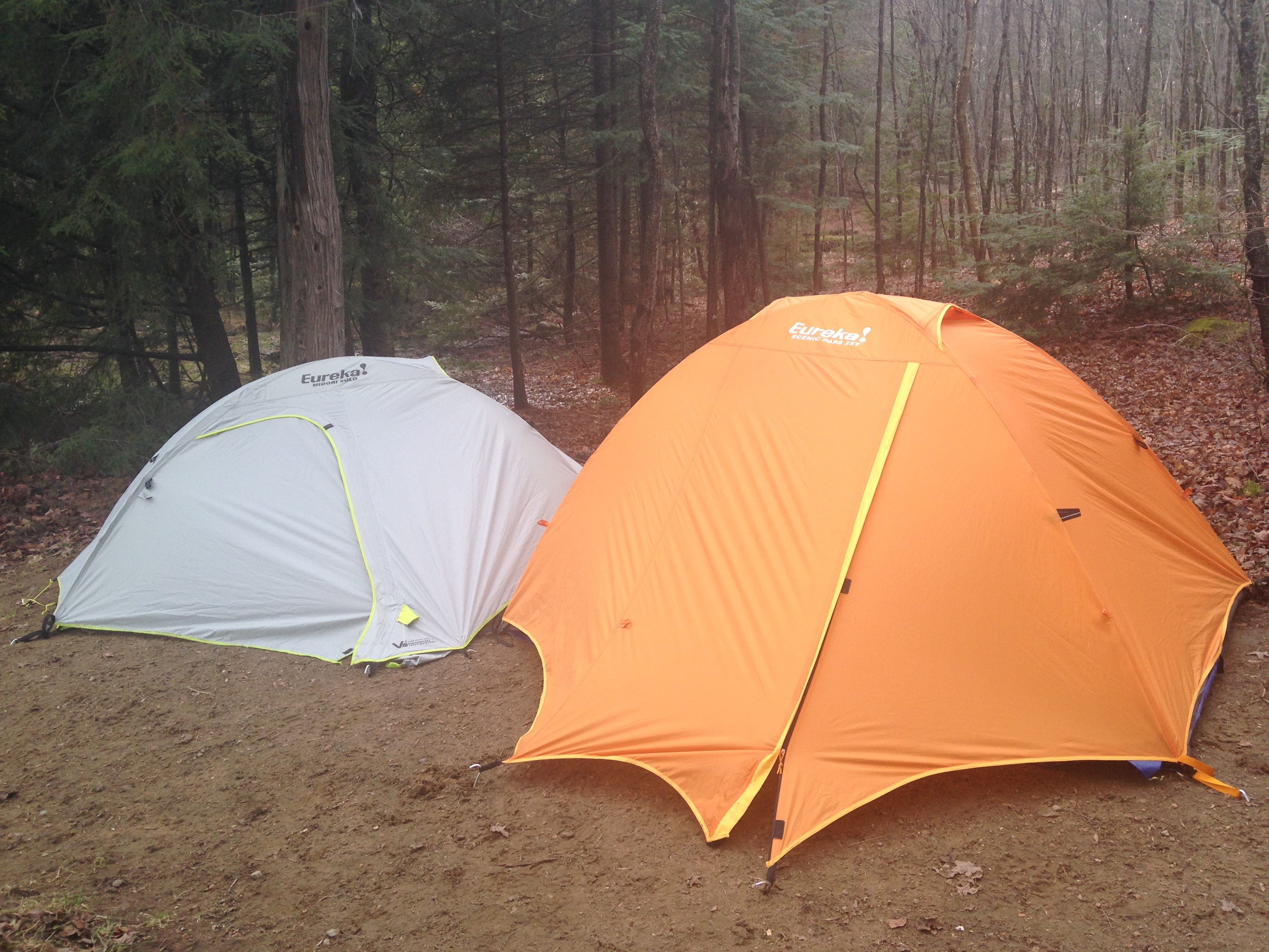 Here we have the Midori Solo side by side with the Scenic Pass 2XT (Blog & Midori Solo Tent u2013 Eureka Tents. | Paddle In