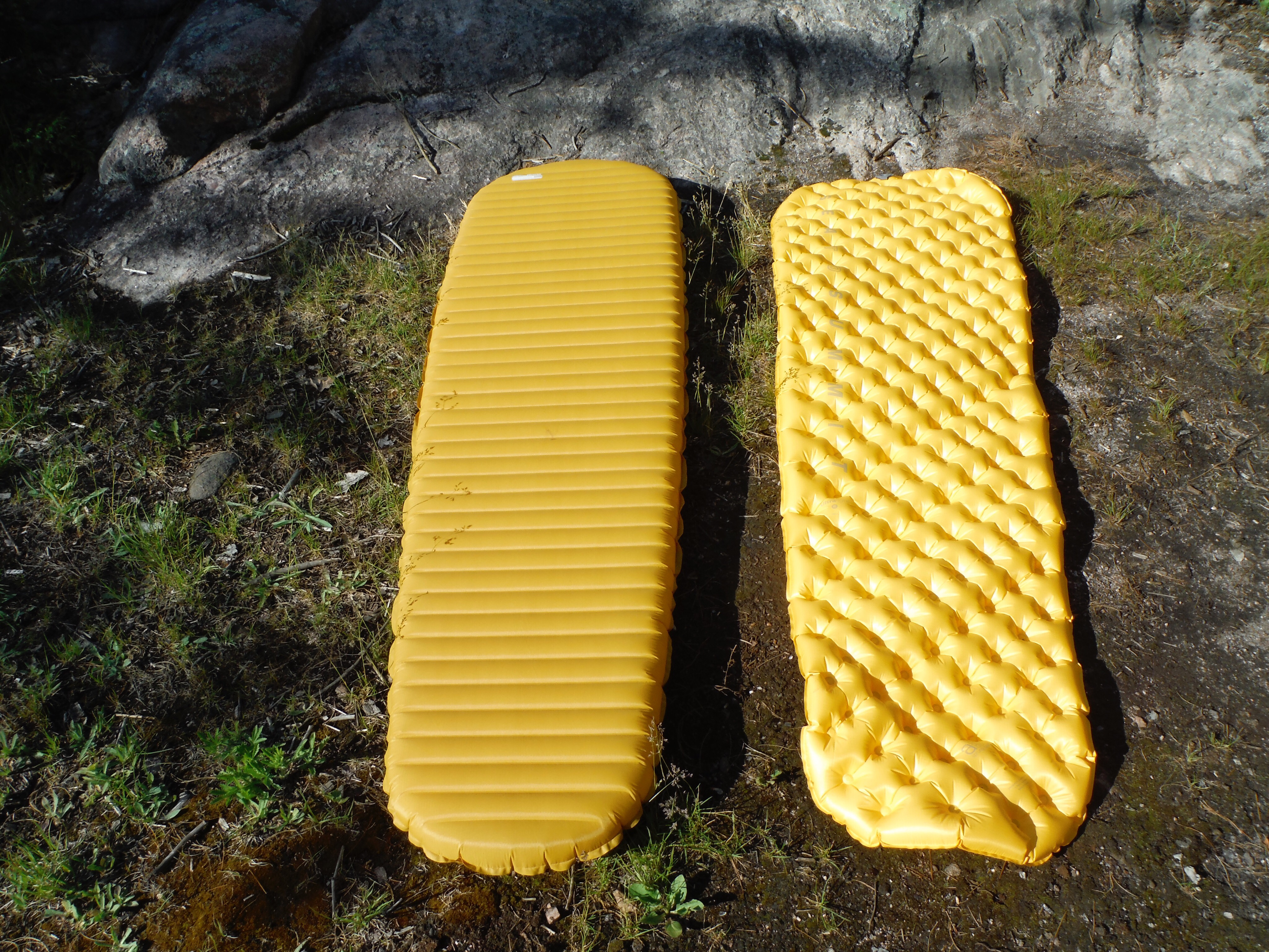 Gear Review Sea To Summit Ultralite Mat Vs Therm A Rest